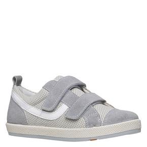Sneakers da bambino con perforazioni flexible, grigio, 311-2217 - 13