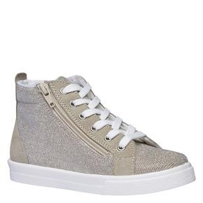 Sneakers alla caviglia con riflessi metallici north-star-junior, marrone, 329-3195 - 13