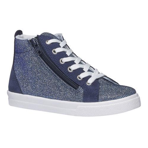 Sneakers alla caviglia con riflessi metallici north-star-junior, viola, 329-9195 - 13