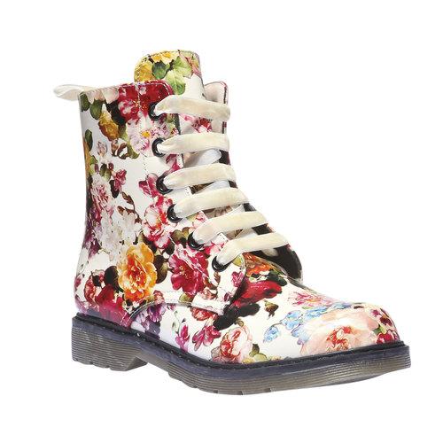 Scarpe da bambino alla caviglia con fiorellini mini-b, 391-0139 - 13