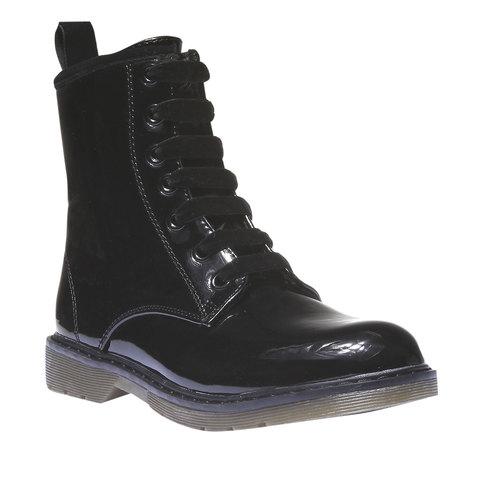 Scarpe alla caviglia con suola massiccia mini-b, nero, 391-6132 - 13