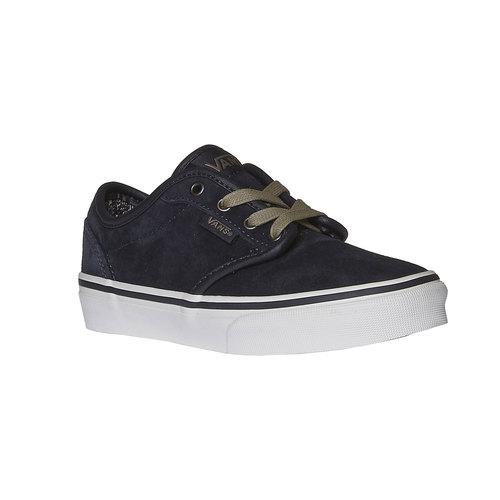 Sneakers di pelle vans, blu, 403-9182 - 13