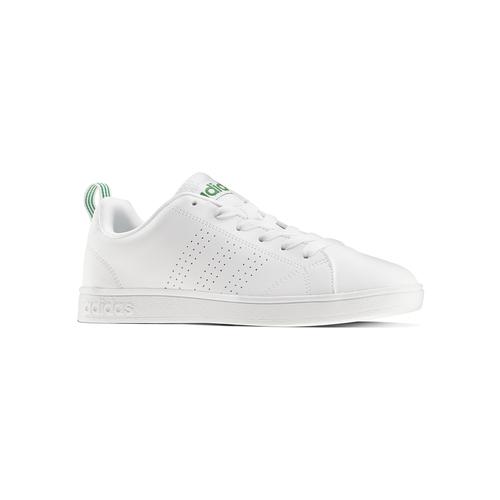 Sneakers bianche con dettagli verdi adidas, bianco, 501-1300 - 13