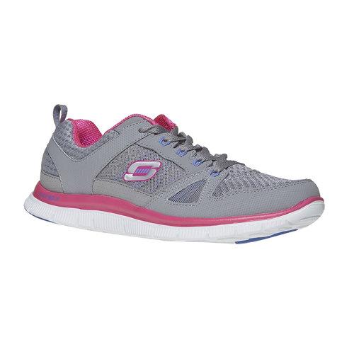Sneakers sportive da donna skechers, grigio, 509-2456 - 13