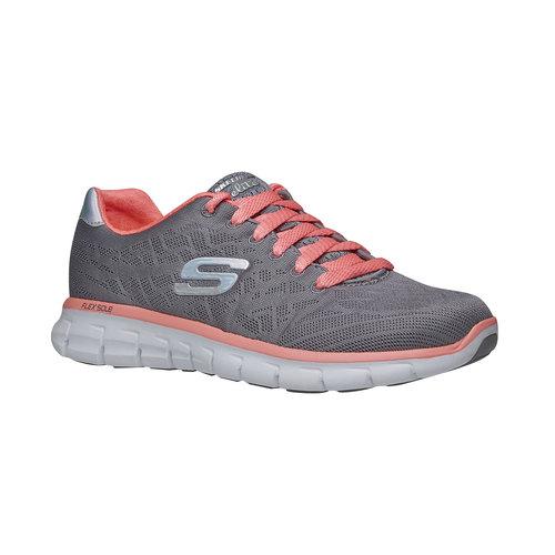 Sneakers sportive da donna skechers, grigio, 509-2659 - 13