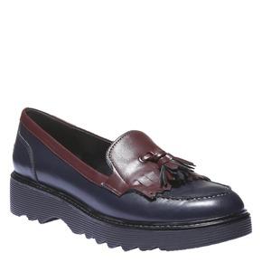 Scarpe da donna in stile Loafer bata, viola, 511-9164 - 13