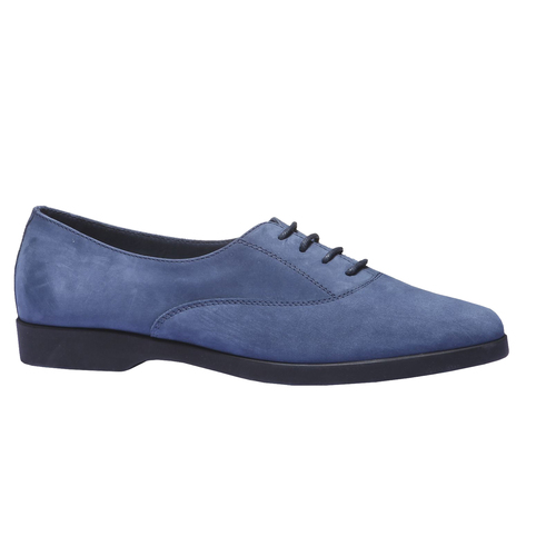 Scarpe basse di pelle flexible, blu, 526-9156 - 13