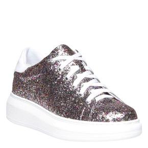 Sneakers da donna con glitter north-star, 541-0223 - 13