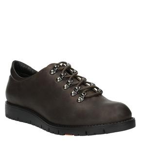 Scarpe in pelle con lacci originali flexible, marrone, 524-4438 - 13