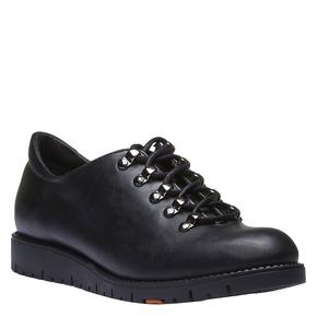 Scarpe in pelle con lacci originali flexible, nero, 524-6438 - 13