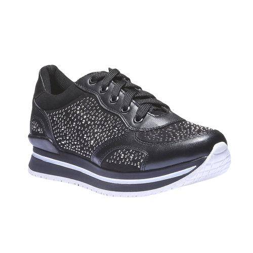 Sneakers alla caviglia north-star, nero, 541-6108 - 13
