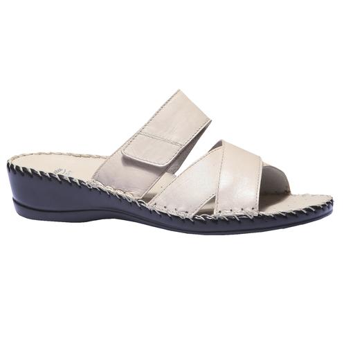 Pantofole donna bata-comfit, giallo, 574-8175 - 13
