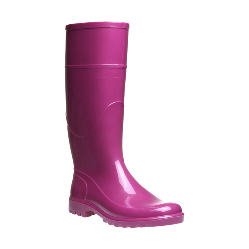 Stivale da pioggia bata, rosa, 592-5781 - 13