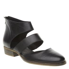 Scarpe di pelle alla caviglia bata, nero, 594-6259 - 13