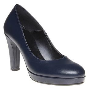 Décolleté eleganti da donna bata, blu, 721-9517 - 13