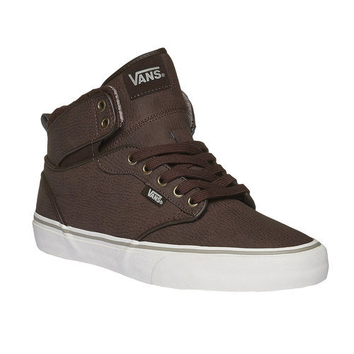 Sneakers da uomo alla caviglia vans, marrone, 801-4305 - 13