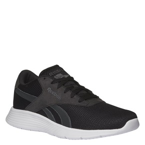 Sneakers dal design sportivo reebok, nero, 809-6165 - 13