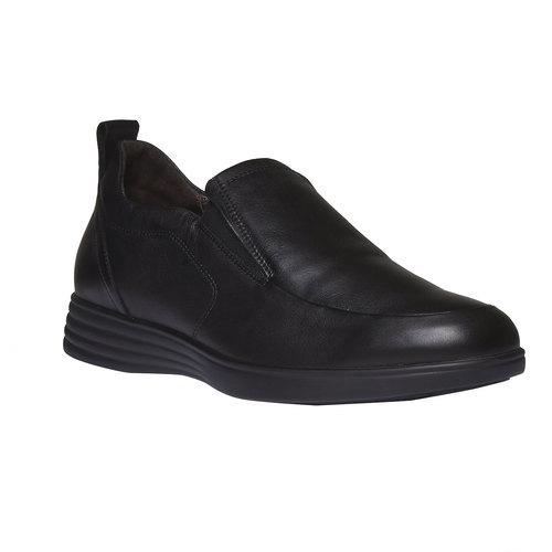 Slip-On di pelle air-system, nero, 814-6133 - 13
