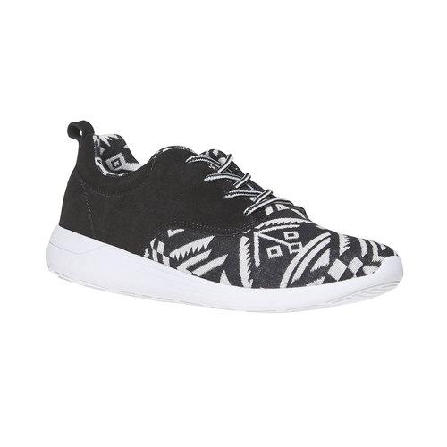 Sneakers con motivo appariscente, bianco, 809-1598 - 13