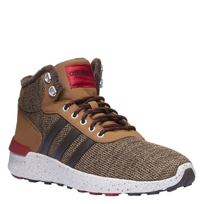 Sneakers alla caviglia con fodera calda adidas, giallo, 809-8128 - 13
