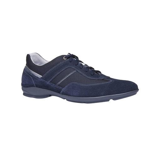 Sneakers informali di pelle bata, viola, 823-9987 - 13