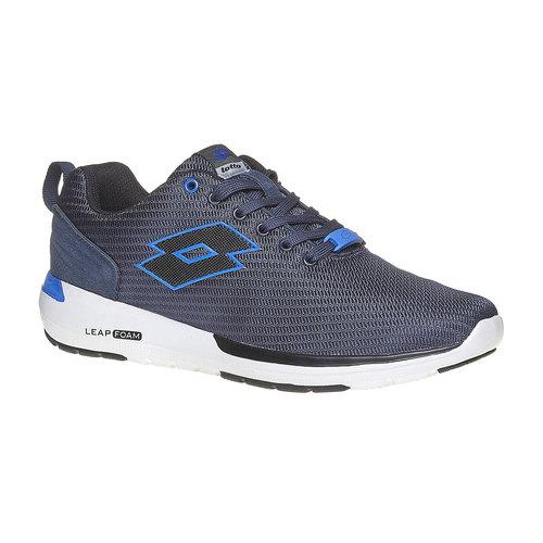 Sneakers sportive di colore blu lotto, blu, 809-9152 - 13