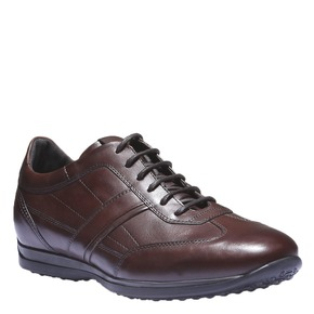 Sneakers scamosciate air-system, marrone, 824-4277 - 13