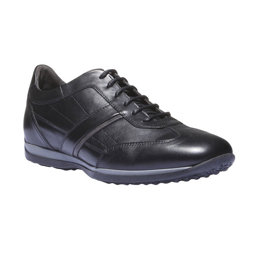 Sneakers scamosciate air-system, nero, 824-6277 - 13