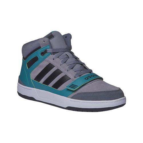 Sneakers da uomo alla caviglia adidas, grigio, 803-2151 - 13