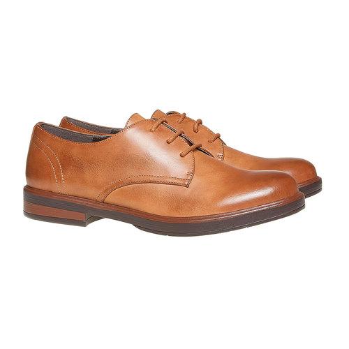 Scarpe basse informali da donna bata, marrone, 521-4291 - 26