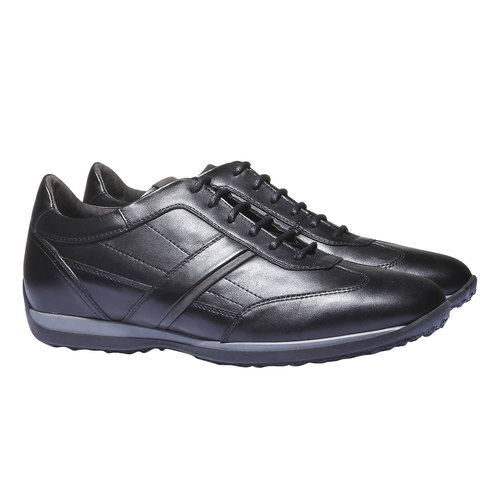 Sneakers scamosciate air-system, nero, 824-6277 - 26