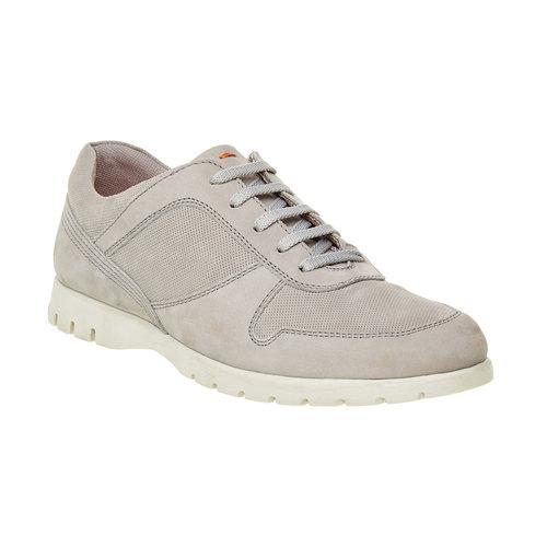 Sneakers informali di pelle flexible, beige, 846-2650 - 13