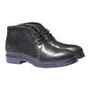 Scarpe alla caviglia con suola di contrasto bata, nero, 521-6365 - 26