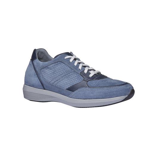 Sneakers da uomo in pelle bata, viola, 843-9645 - 13