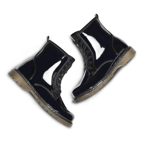 Scarpe alla caviglia con suola massiccia mini-b, nero, 391-6259 - 26
