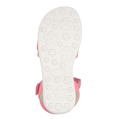 Sandali rosa con chiusura a velcro mini-b, rosa, 261-5159 - 26
