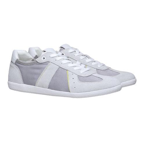 Sneakers informali da uomo bata, bianco, 849-1653 - 26