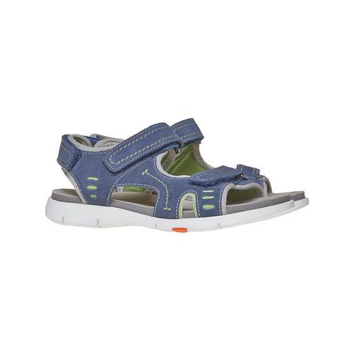 Sandali da bambino flexible, blu, 363-9188 - 26
