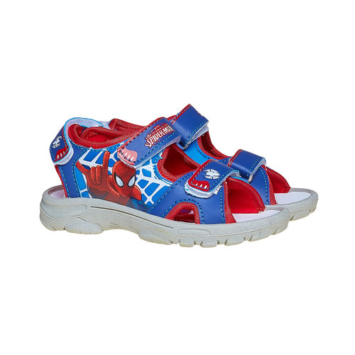 Sandali per bambino con Spiderman spiderman, blu, 261-9151 - 26