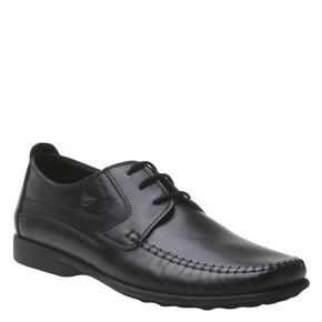scarpa in pelle da uomo bata-comfit, nero, 854-6836 - 13