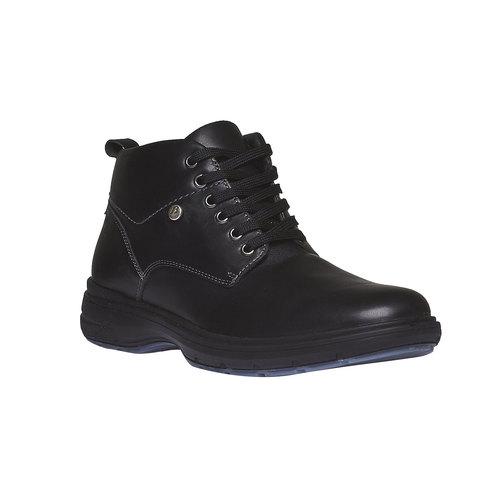 Scarpe di pelle alla caviglia bata, nero, 894-6226 - 13
