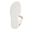 Sandali da ragazza con glitter mini-b, bianco, 261-1159 - 26