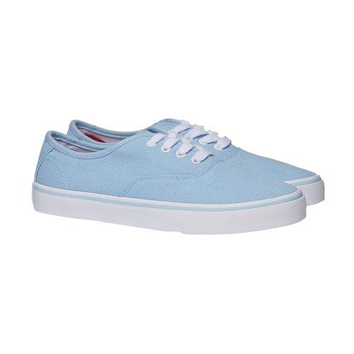 Sneakers di tela north-star, viola, 549-9221 - 26