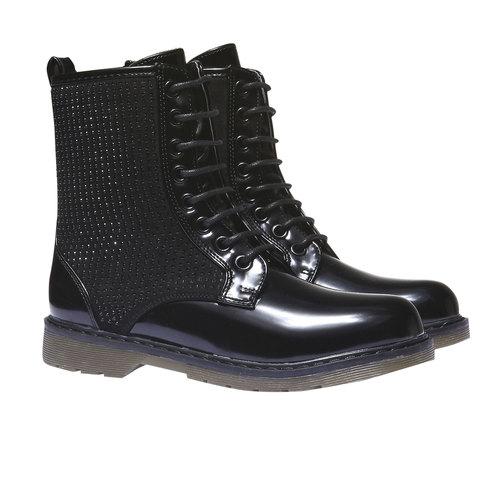 Scarpe alla caviglia con suola massiccia mini-b, nero, 391-6147 - 26