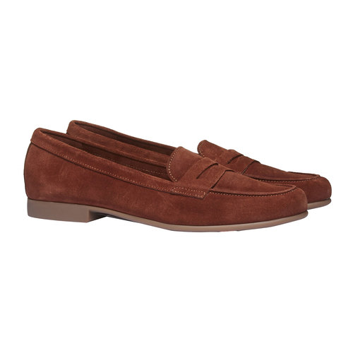 Penny Loafer di pelle flexible, marrone, 513-3196 - 26