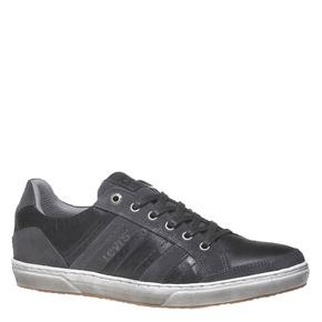 Sneakers di pelle levis, nero, 844-6292 - 13
