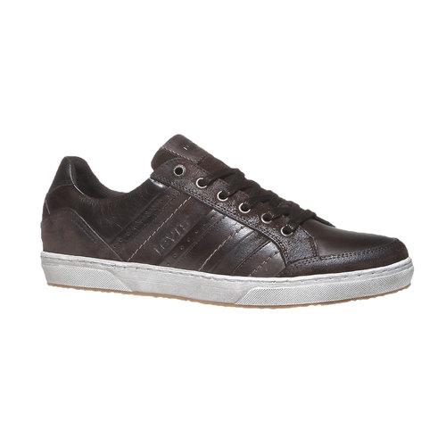 Sneakers di pelle levis, marrone, 844-4292 - 13