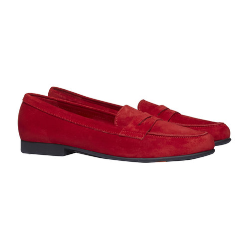 Penny Loafer di pelle flexible, rosso, 513-5196 - 26