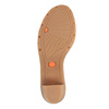Sandali da donna in pelle flexible, marrone, 764-8538 - 26