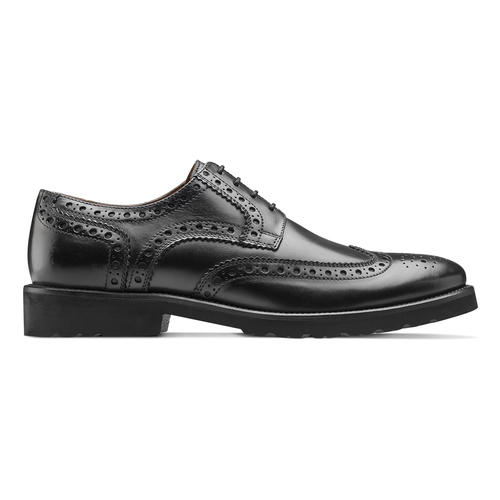 Argyll Brogue in Pelle bata-light, nero, 824-6399 - 26